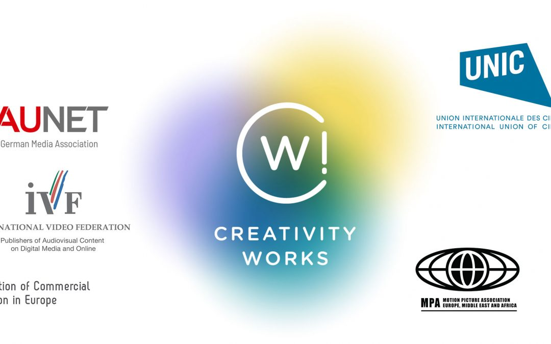Creativity Works! reiterates the importance of territorial exclusivity  for the creation, financing, production and distribution of creative content