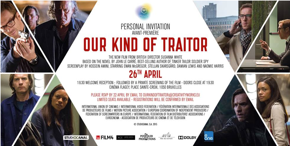 BRUSSELS AVANT-PREMIÈRE: OUR KIND OF TRAITOR