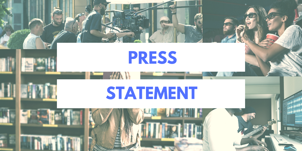 Press statement: Final flicker for Europe's creative sector?